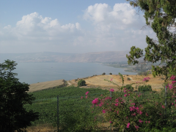 This is believed to be where Jesus taught the disciples overlooking the Sea of Galilee